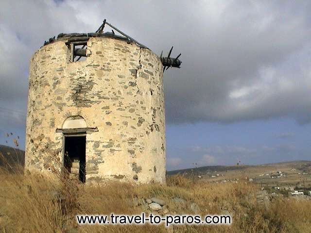 PAROS WINDMILL - An old windmill.