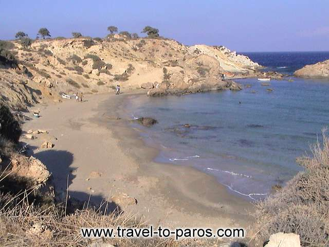 PAROS BEACH - The beaches of Paros satisfying all the visitors of the island.