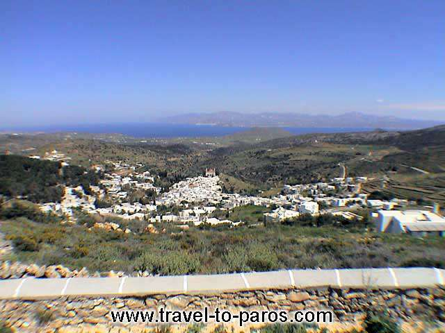 LEFKES VIEW - A panoramic view of the wonderful village, Lefkes.