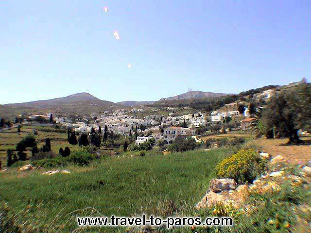 LEFKES VIEW - A panoramic view of lefkes. A beautiful mountainous village which preserves its traditional architecture.