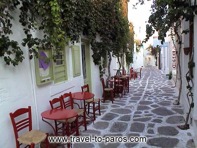 NAOUSSA PAROS - Walk around to the streets of the traditional settlement of Naoussa.