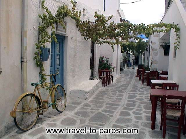 PARIKIA PAROS - The past is still alive and travels in the seasons.
